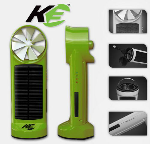 K3 solar wind chager
